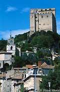 Crest dans la Drôme