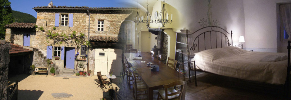 Bed & Breakfast in der Drôme