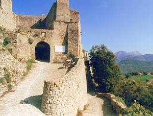 Poët-Celard dans la Drôme