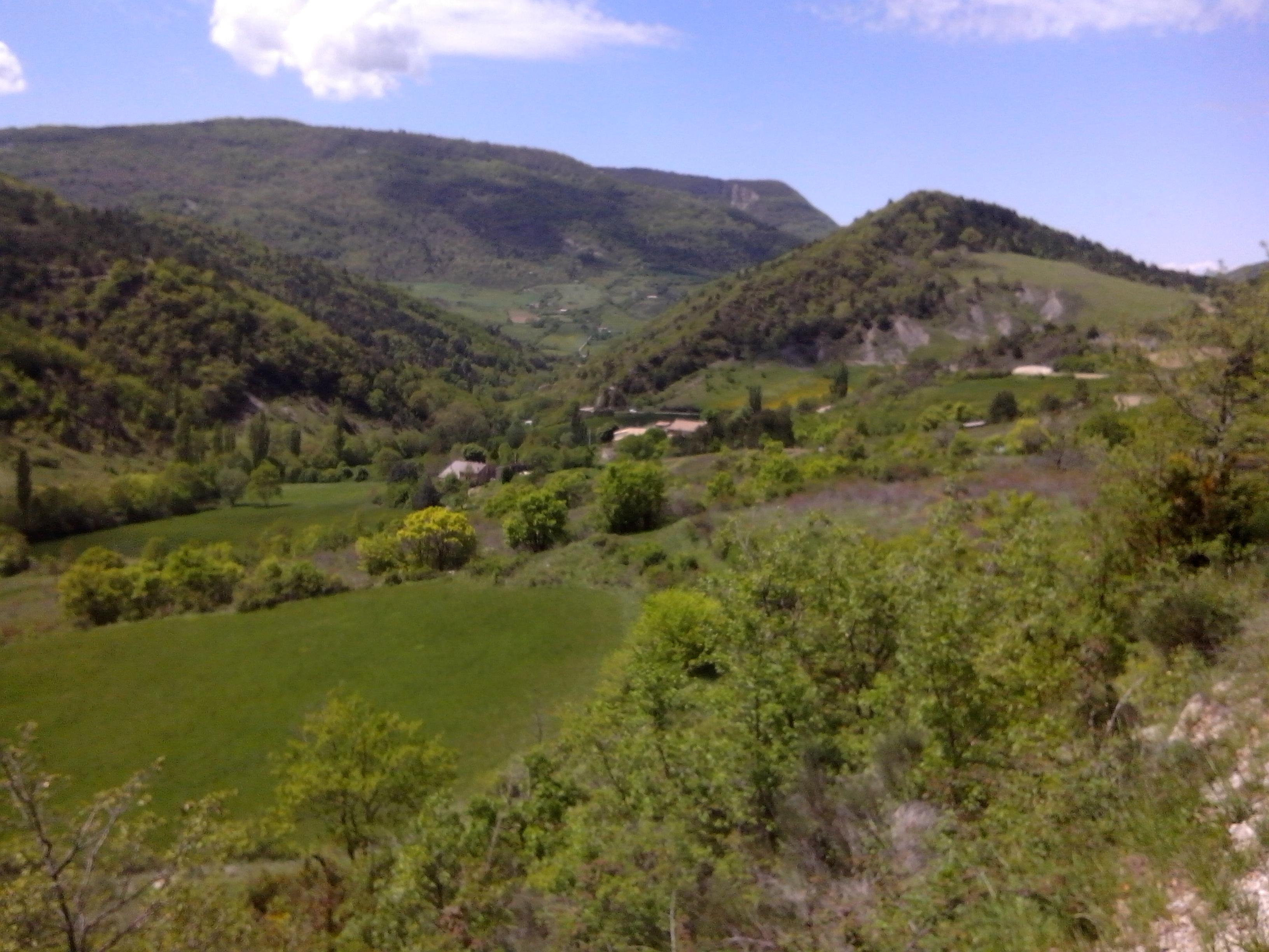 The Dr´me region Ferme de Pauroux